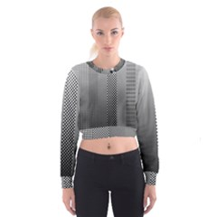 Semi Authentic Screen Tone Gradient Pack Women s Cropped Sweatshirt