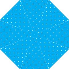 Mages Pinterest White Blue Polka Dots Crafting Circle Hook Handle Umbrellas (medium) by Alisyart