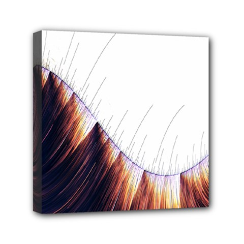 Abstract Lines Mini Canvas 6  X 6  by Simbadda