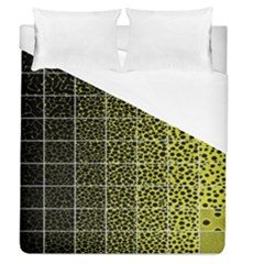 Pixel Gradient Pattern Duvet Cover (queen Size) by Simbadda