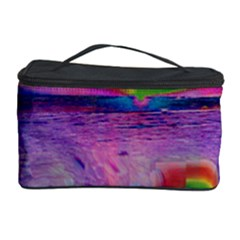 Glitch Art Abstract Cosmetic Storage Case by Simbadda