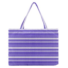 Lines Medium Zipper Tote Bag by Valentinaart
