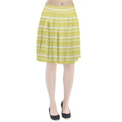 Lines Pleated Skirt by Valentinaart