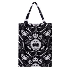Wrapping Paper Nightmare Monster Sinister Helloween Ghost Classic Tote Bag by Alisyart