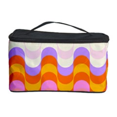 Dna Early Childhood Wave Chevron Rainbow Color Cosmetic Storage Case by Alisyart