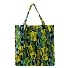 Don t Panic Digital Security Helpline Access Grocery Tote Bag by Alisyart