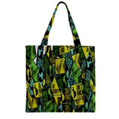 Don t Panic Digital Security Helpline Access Zipper Grocery Tote Bag by Alisyart