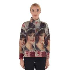 Vintage Girl Winterwear by Valentinaart