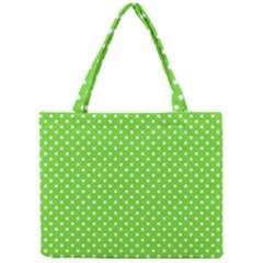 Polka Dots Mini Tote Bag by Valentinaart