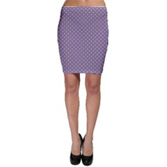 Polka Dots Bodycon Skirt by Valentinaart