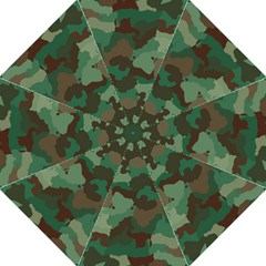 Camouflage Pattern A Completely Seamless Tile Able Background Design Straight Umbrellas by Simbadda