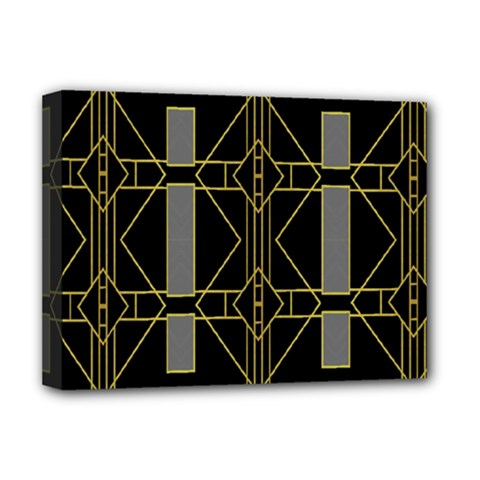 Simple Art Deco Style  Deluxe Canvas 16  X 12   by Simbadda