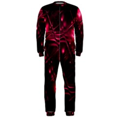 Picture Of Love In Magenta Declaration Of Love OnePiece Jumpsuit (Men)  by Simbadda