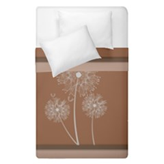 Dandelion Frame Card Template For Scrapbooking Duvet Cover Double Side (single Size) by Simbadda