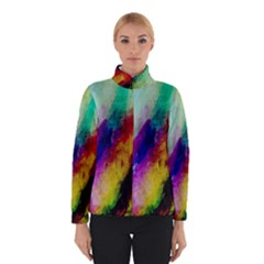 Colorful Abstract Paint Splats Background Winterwear by Simbadda