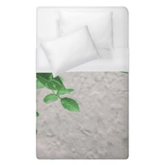Plants Over Wall Duvet Cover (single Size) by dflcprints
