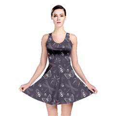 Insect Pattern Reversible Skater Dress by CoolDesigns
