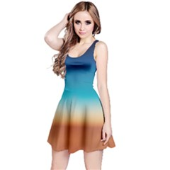 Desert Gradient Tie Dye Sleeveless Dress  by CoolDesigns