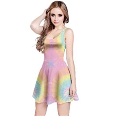 Rainbow2 Tie Dye Sleeveless Dress by CoolDesigns