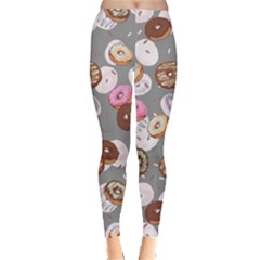 Gray Donut Leggings  by CoolDesigns