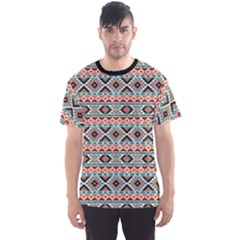 Colorful Colorful Navajo Pattern Men s Sport Mesh Tee by CoolDesigns