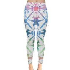 Colorful Tie Dye Leggings by CoolDesigns
