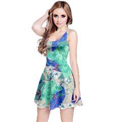Mint Roses Sleeveless Dress by CoolDesigns