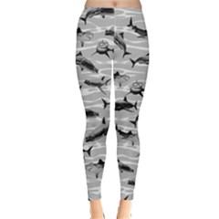Black & White Leggings  by CoolDesigns