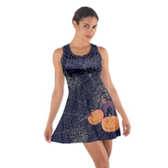 Navy Halloween Cotton Racerback Dress by CoolDesigns