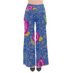 BluePaisley Chic Palazzo Pants by CoolDesigns