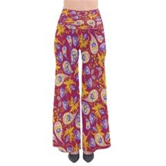 WinePaisley Chic Palazzo Pants by CoolDesigns