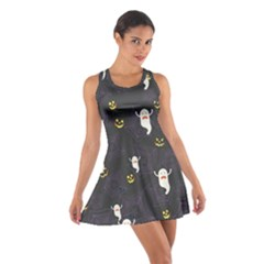 Gray Halloween Cotton Racerback Dress by CoolDesigns