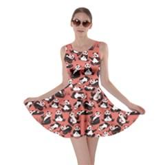Orange Panda Skater Dress by CoolDesigns