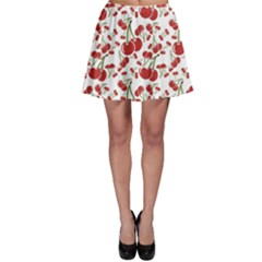 Red Cherry Pattern Skater Dress by CoolDesigns