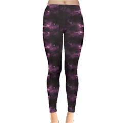 Dark Photorealistic Galaxy Design Leggings by CoolDesigns