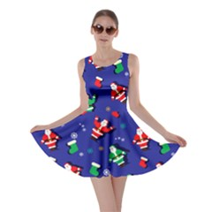 Blue Santa Skater Dress by CoolDesigns