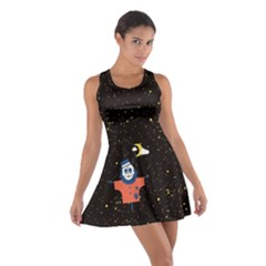 Horror Night Cotton Racerback Dress by CoolDesigns