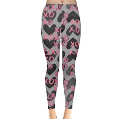 Xo Heart 2 Leggings  by CoolDesigns