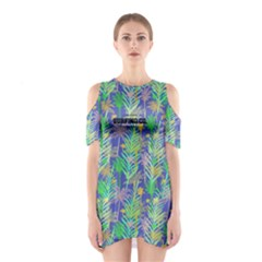 Blue Hawaii 5 Women s Cutout Shoulder One Piece by CoolDesigns