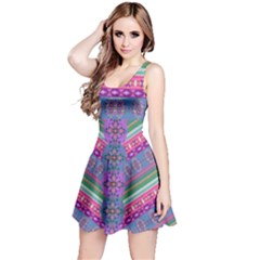 Colorful Aztec 3 Sleeveless Dress by CoolDesigns