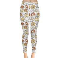 Colorful Donut Pattern Women s Leggings by CoolDesigns