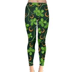 Clover Day Leggings  by CoolDesigns