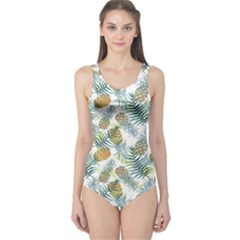 Pineapple Cut Out One Piece Swimsuit by CoolDesigns
