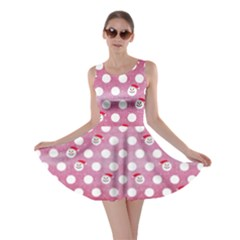 Snow Dot Skater Dress by CoolDesigns