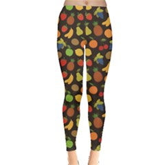 Colorful Pattern Set Of Fruit Leggings by CoolDesigns