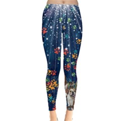 Dog & Cats Studio Leggings  by CoolDesigns