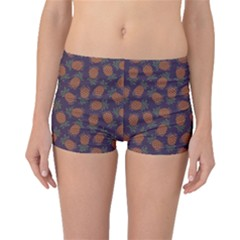 Purple Pattern of Pineapple Boyleg Bikini Bottoms by CoolDesigns