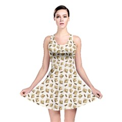 Colorful Pattern With Koalas Reversible Skater Dress by CoolDesigns