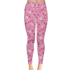 Pink Pattern A Valentine S Day Leggings by CoolDesigns