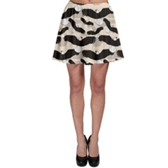 Black Pattern with Eagles Skater Dress by CoolDesigns
